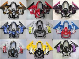Wholesale 99 Cbr F4 Fairings - CBR word, flame, multi color (Ijection Mold) CBR600 F4 99 00 Fairing CBR600 F4 1999 2000 Fairing