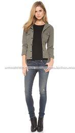 Wholesale Light Soft Blue Jeans - Jessika rag&bone soft elastic nostalgic blue hole skinny pants women female plus size slim blue jeans