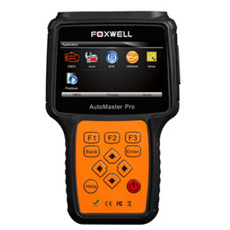 Wholesale Peugeot Diagnostic Test - Original Foxwell NT644 Pro AutoMaster All Makes Full Systems + EPB + Oil Service Multifunction Scanner Support All 10 OBDII Test Modes