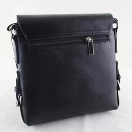 Wholesale Brand Briefcase Wholesale - Wholesale- Hot!! Real Single Interior Slot Pocket 2016 Famous Brand Men Messenger Bags Big Promotion Shoulder Handbags Casual Briefcase