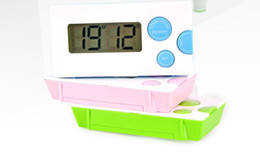 Wholesale Digital Large Display Timer - Electronic timer Digital timer Kitchen Timer 100 Minutes Counter Count Up Down Magnetic Large LCD Display 3 colors