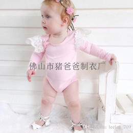 3e3dbb7d6dcd XMAS hot Baby girl toddler Summer clothes clothing cotton long sleeve lace romper  onesies diaper covers bloomers dress fly sleeve princess