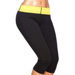 Wholesale Neoprene Slimming Shorts - Hot Shapers Neoprene Slimming Pants spoart leggins Slimming Pants Body Shaper Body Tummy Shapers Neoprene Slimming Pants bodysuit fast ship