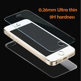 2pcs / set front + back Verre Trempé Pour iPhone 5 5S 6 6s 7 plus 4 4S Film de Protection Écran Full Body Glass ? partir de fabricateur