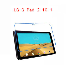 Wholesale Lg G Pad - Wholesale- Ultra Clear HD Clear glossy Screen Protector Screen protective Guard Cover Film For LG G Pad X 10.1 V940 V930