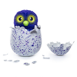 Wholesale Toy Plastic Birds For Kids - IN STOCK hatchimals pengualas draggles interactive egg toy christmas surprise gifts in magical hatching egg for our kids with free shipping