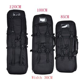 Wholesale 85CM CM CM Gun Bags Outdoor Hunting Backpack Airsoft Coldre Square Bag Gun Protection Case Rifle Backpack