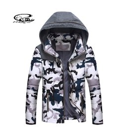 Wholesale Mens Winter Down Coats Sale - Wholesale- Hot Sale Mens Camouflage Down Coat Fashion Camouflage Red Blue Coffee Color Down Jacket Winter Windproof Man Chaqueta Hombre