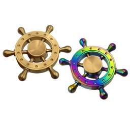 2017 jouet à araignée Fidget spinner Captain America Shield Iron Spider homme hulk métal à la main spinners Rainbow main spinner top finger toys box jouet à araignée promotion