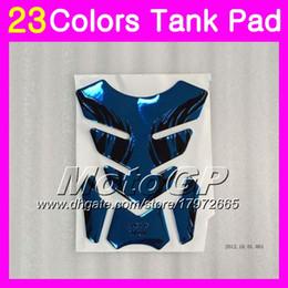 Wholesale Carbon Cbr - 23Colors 3D Carbon Fiber Gas Tank Pad Protector For HONDA CBR400RR 87 88 89 NC23 CBR400 RR CBR 400RR 400 1987 1988 1989 3D Tank Cap Sticker