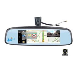 Wholesale Car Gps Navigation Camera - 7.84'' 1080P 4G Android Car DVR Rearview Mirror With Wifi Bluetooth FM GPS Navigation ADAS