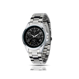 Wholesale China Wholesale Men Watches - China stylish men sports watches 30m waterproof alloy case stainless steel or PU leather strap Japanese quartz movement not mechanical watch
