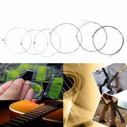 Wholesale Electric Guitar Drop Ship - wholesale FE5# Guitar 6 Strings Steel Electric Guitar Strings XL150 .023 009in E Super Light Drop Shipping