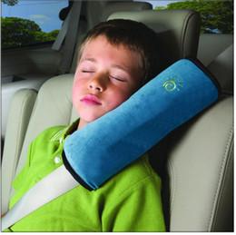 All'ingrosso-Baby Auto Cuscino Car Protect Spallina per bambini Cintura di sicurezza per bambini Cintura di sicurezza per bambini Protegge il paraspalle Regolare il sedile del veicolo da coperture all'ingrosso del sedile dell'automobile del fumetto fornitori