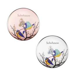 Wholesale Birds Skin - 2017 Korean Sulwhasoo Perfecting Cushion Limited Edition Magpie Bird Air Cushion BB Cream CC Cream NO.21 Free DHL shipping