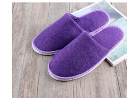 Wholesale one time slippers hotel - 2017 newest hotel one-time slippers 3 color home hospitality family travel easy to carry super good quality