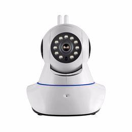 Argentina 1 UNIDS Cámara de antena doble Cámara IP inalámbrica WIFI Megapixel 720p HD interior Seguridad inalámbrica Cámara CCTV IP de seguridad digital + 64G tarjeta de memoria TF Suministro