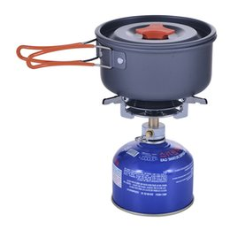 Wholesale Travel Portable Stainless Cookware - AOTU Hiking Camping Sport Grill Head Portable Stove Head Disc Gas Stove Gas Stove Outdoor Flat 070