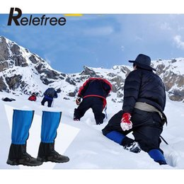 Wholesale Hunting Snow Gaiters - Wholesale-Waterproof Outdoor Hiking Walking Climbing Hunting Snow Legging lengthen Gaiters