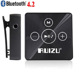 Wholesale 2017 New X15 Digital Lossless Sport Hifi Audio Mini Clip Mp3 Music Player Bluetooth GB With Flac Running SD Musician Car WAV