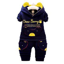 Wholesale Kids Panda Hoodie - Baby Casual Suit Children Spring Autumn Tracksuit Boys Girls Long sleeve Clothes Children Devil Panda Hoodie and Pants Set Kids Clothing
