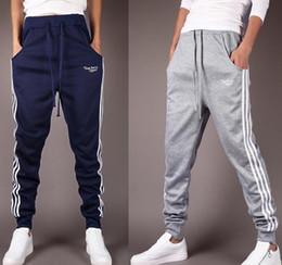 Wholesale Pants For Dance - Newest Mens Joggers Fashion Harem Pants Trousers Hip Hop Slim Fit Sweatpants Men for Jogging Dance Sport Pants