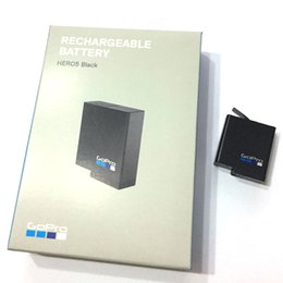 Wholesale Gopro Hd Hero Battery - NEW AABAT-001 AABAT 001 Battery AHDBT-501 AHDBT501 batteries For GoPro go pro GoPro5 HD Hero 5 Hero5 Black rechargeable