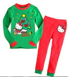 Wholesale Cheap Pajamas Wholesale - Boys and girls pajamas cheap price European and American wind pajamas hot selling Cotton comfortable baby pajamas