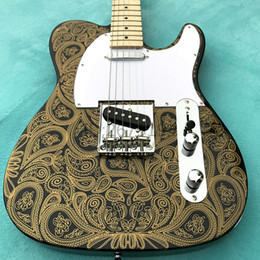Wholesale Guitar Body Decals - Hot!! free delivery, TL decals, classic electric guitar, very nice tone, and a custom electric guitar and electric bass