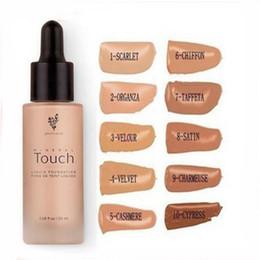 Wholesale skin brightening cream - Younique Touch Liquid Foundation Concealer Cream Moodstruck Opulence BB Cream 10 color 20ml