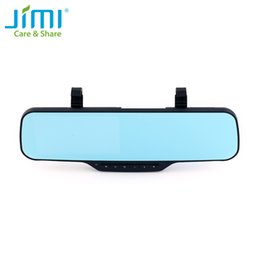 Wholesale Display Clips - Jimi JC900 3G Smart Car Camera 1080P Android Dual Camera Clip Strap Bracket Rearview Mirror Car DVR With Bluetooth GPS Navigation