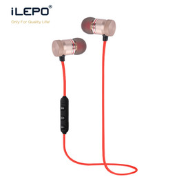 Wholesale Iphone Headphones Handsfree - Wireless Bluetooth Headphones Handsfree Earphones Stereo Bluetooth Music Playback Wireless Bound Enjoy Hands Open Call With Retail Box