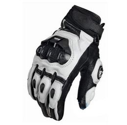 Wholesale Motorcycle Bmx Bike - 2017 New Arrive Cool Motorcycle Gloves Moto Racing Gloves Knight Leather Ride Bike Driving BMX ATV MTB Bicycle Cycling Motorbike