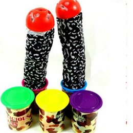 Wholesale Wholesale Fun Candy - Wholesale-Novelty Toys Prank Toys Surprised Candy Jar 1pcs lot Fun Toy Fuuny Gadgets Joke Toy Halloween Decoration Gags Practical Jokes