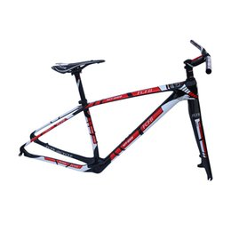 Wholesale 29er Mtb - FCFB MTB carbon frame15 17 19 21inch bicycle 29er carbon frame carbon mountain bike disc BB PF30