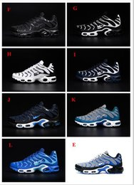 Wholesale Lace Material Shoes - Wholesale 12 Colors Free Shipping Mens Maxes TN Running Shoes Nanotechnology hot sale Durable Material Sports Sneakers KPU Shoes