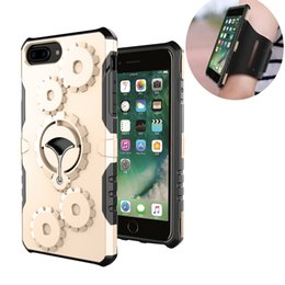 Wholesale Duty Gear - Hybrid Gear Armor Multifunctional Case Metal Rotatable Kickstand Removable Armband Duty Shockproof Sport for iphone 7 plus Samsunsung S7 S8