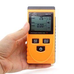 Wholesale Emf Meter Detector - Benetech GM3120 EMF Meter Handheld Electromagnetic Radiation Detectors Radiation Meter Tester Gauge