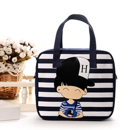 Wholesale Tie Dye Purse Free Shipping - Fashion Totes Bag Small Purse Cell Phone Pockets Creative Cartoon Canvas Prints Handbags For Women Free Shipping
