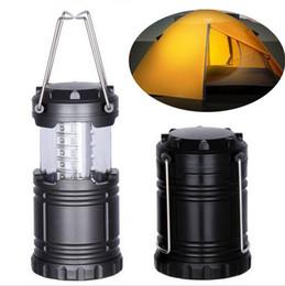 Ultra Lumineux Camping Lantern 30 LED D'urgence Lumières Tension Tente Lumière Batterie Opération Étirement Portable Randonnée En Plein Air De Pêche Camping L ? partir de fabricateur
