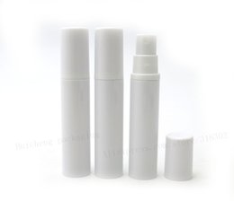 Wholesale Used Airless - 500 X 10ml Empty White Airless Perfume Mist Sprayer Bottle For Cosmetic Use