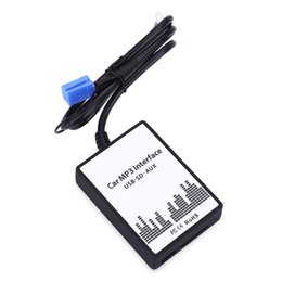 Wholesale Digital Interface - Newest Car MP3 Interface DC 12V USB SD Data Cable AUX Adapter 8 PIN Audio Digital CD Changer for Audi A2 A3 A4 S4 A6 S6 A8 S8