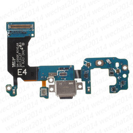 Wholesale Flex Connectors - OEM 100% New Charging Port Charger Dock Connector Flex Cable Replacement for Samsung Galaxy S8 Plus G950F G950U G955F G955U