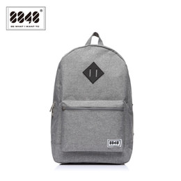 Wholesale trendy backpacks for women - Wholesale- 8848 Gray Backpack 16L For Travel Bag Oxford Waterproof Women Backpack Travel Backpack Bag Tennager Trendy Type Free Shipping