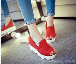 Wholesale Ladies Platform Shoes Elastic Band - women slipper platform shoes ventilate summer slippers high quality ladies shoes