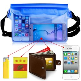 Wholesale Mobile Cover Waist - For Universal Waist Pack Waterproof Pouch Case Water Proof Bag Underwater Dry Pocket Cover For Cellphone mobile phone money