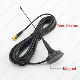 Wholesale Sma Connector For Antenna - FEELDO Car SMA Connector Active Antenna Aerial With Built-in Amplifier For Digital TV #925