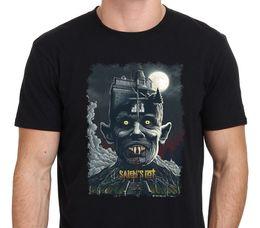 Wholesale Plus Size Christmas Shirts - Clothing Plus Size S M L Xl Xxl Men'S Short Salem'S Lot American Horror Vampire O-Neck Christmas Shirt