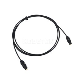 Wholesale Fiber Optic Lines - 1M 3FT Digital Optical Optic PVC Fiber Toslink Audio Cord OD 2.2mm AV sound Cable Toslink Male to Male Lead Cord line