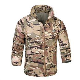 Wholesale Out Door Coat Men - Wholesale- Out door 15 Camouflage colors Sun & UV Protection Quick Dry Man Coats Skin Jacket Super Light Coat Men Tactical Clothing clothes